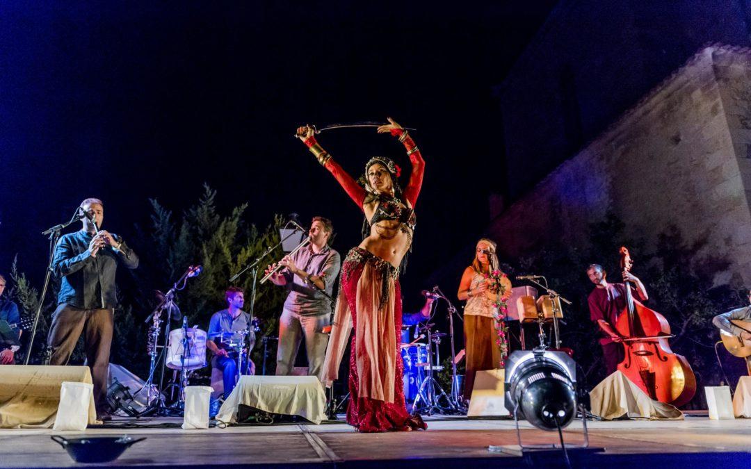 Gira Carrión Folk & Neftis Paloma 2018. Concierto y Danza