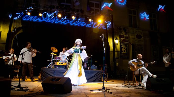 Concierto y Danza. Carrión Folk & Neftis Paloma