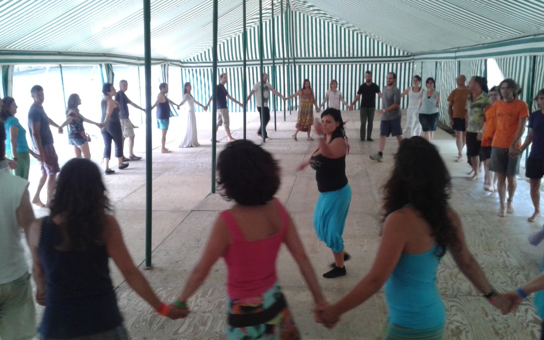 Talleres giro sufí y derviche. Festival Danzas Sin Fronteras 2015