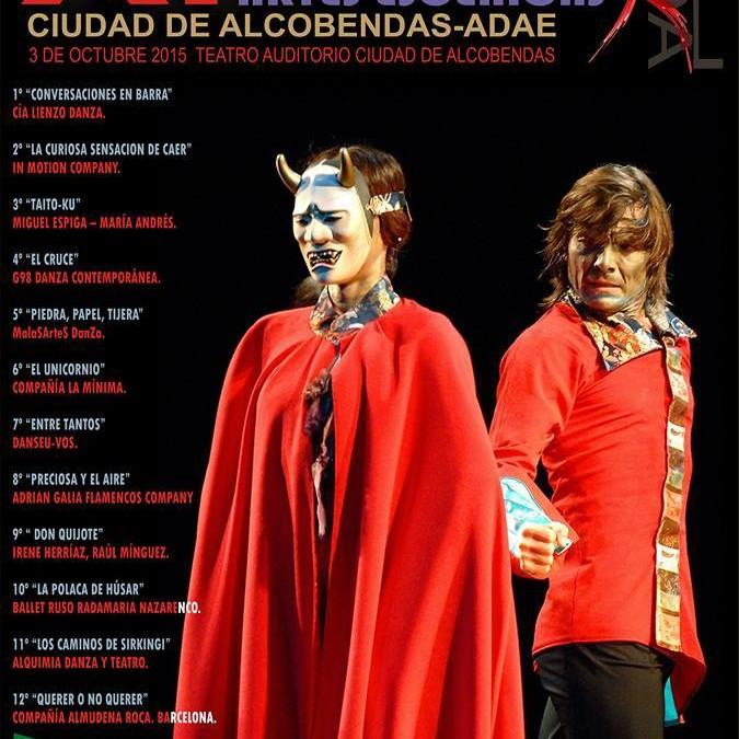 XI FESTIVAL INTERNACIONAL DANZA Y ARTES ESCÉNICAS ADAE CIUDAD DE ALCOBENDAS