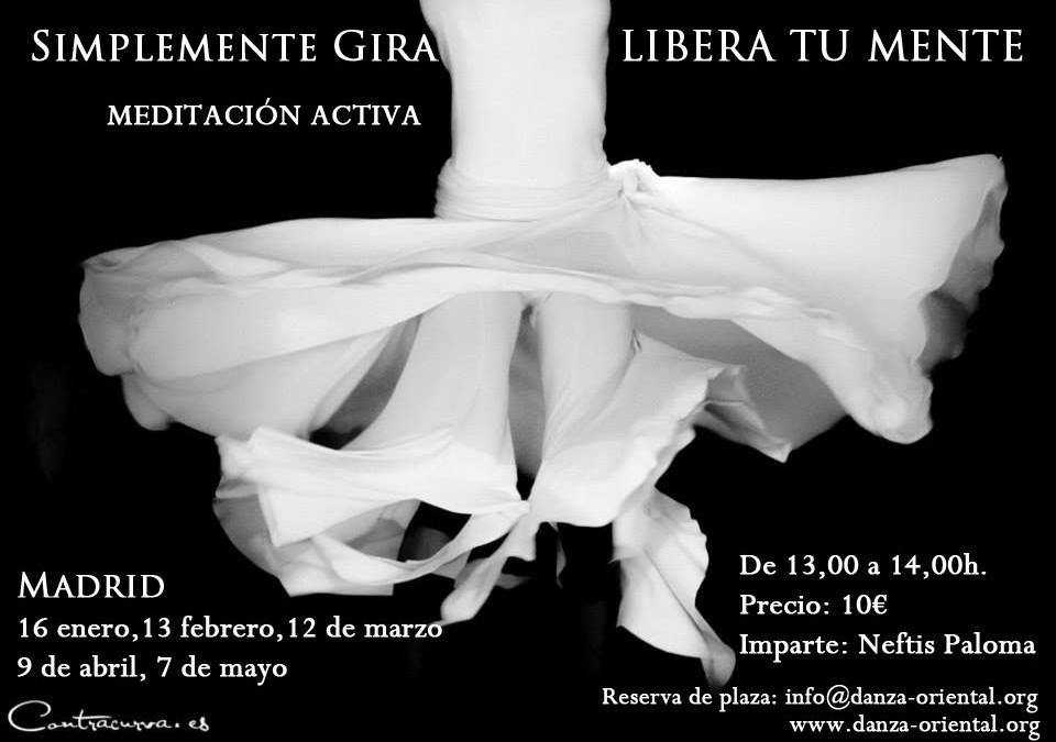 Intensivo Giro Sufí y Derviche Sábado 9 de abril en Madrid