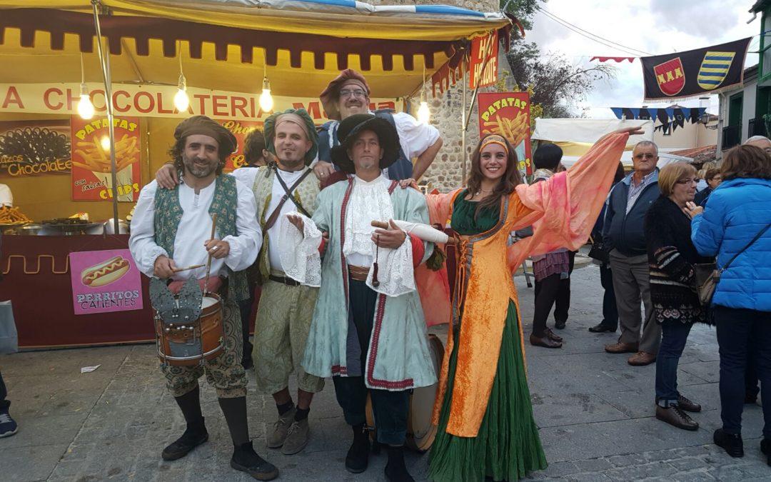 Mercado medieval San Fernándo de Henares, Madrid 23-25 junio de 2017