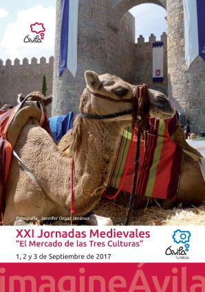 XXI Jornadas Medievales de Ávila 1, 2 y 3 de septiembre 2017