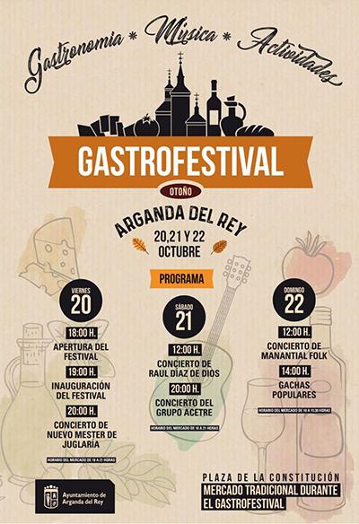 Mercado Tradicional durante el Gastrofestival. 20, 21 y 22 de octubre